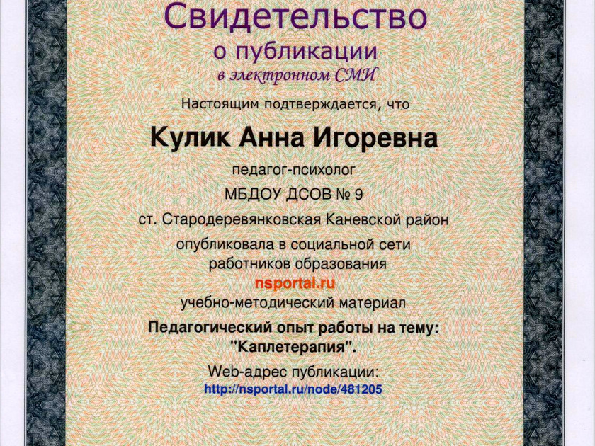 свидетельство о публикации (1)